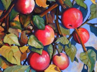 Apples | Painting by Lee Rawn
