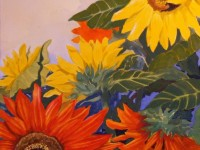 Sunflower Field | Watercolour by Lee Rawn