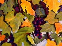 Grape Harvest | Watercolour by Lee Rawn