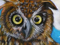 Night Owl | Painting by Lee Rawn