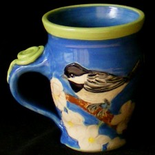 Chickadee Mug | by Lee Rawn